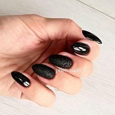 DC83 @blueskypolska and my favourite sugar effect   #blacknails #suggareffect #nailart #nailsoftheday #nails2inspire #instanail #hybrydnails #hybrydymanicure #nailporn #nailpolish #nailswag #hybrydy #paznokciehybrydowe #gelnails #paznokcie #pazurki #pazurkihybrydowe #nailprodigy