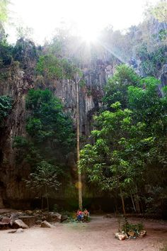 Kompong Trach , here you would find the various limestone caves and tubes in nearby mountain. #travel #cambodia