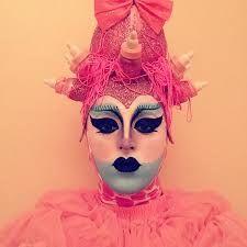 Image result for drag queen makeup contouring alien