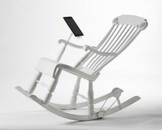 iRock: rocking chair is iPad charger with built-in speakers!