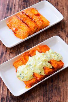 ピリ辛!豆腐のチキン南蛮風のレシピ