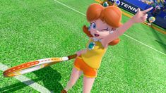 [Brief] Mario Tennis: Ultra Smash - New screenshots - Perfectly Nintendo Mario Bros., Mario Party, Mario And Luigi, Princesa Daisy, Princesa Peach, Wii U, Mario Kart Characters, Luigi And Daisy, Super Mario Run