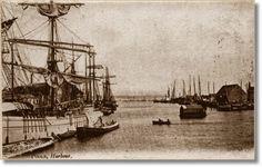 Vintage postcard of Poole Harbour - plus a coincidence story. #coincidence #coincidencestory #poole #dorset