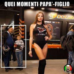 Momenti #padre e #figlio. #Vignetta e #Vignette, #immagini #divertenti in #italiano e #italiane.