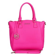 Fashion Michael Kors Miranda Logo Large Pink Totes Online! I HAVE TO HAVE IT. IT HAS MY NAME ITS MADE FOR ME. TY MK