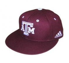 b5717e36b7f Dugout Hats Texas A M Adidas On Field Cap-Maroon  GBR  - Adidas maroon  official on field baseball cap with adidas logo on left side and T-Star  embroidered ...