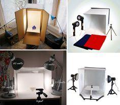 Monta tu estudio de Fotografía en Casa!