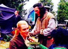 "thorinds: BTS of ""The Hobbit"" spam (78/100) 