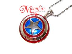 THE AVENGERS Captain America Shield Necklace