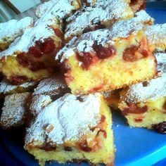 Cseresznyés sütemény, elronthatatlan olajos kevert tésztával - Egyszerű Gyors Receptek