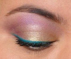 362/365 Days of Makeup 3.0 with Youngblood Lagoon Gel Liner and Too Faced Romantic Eye palette.
