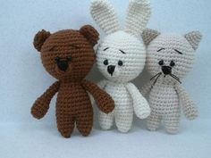 Free crochet amigurumi animal patterns