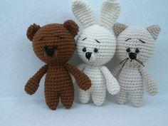 Free crochet amigurumi animal patterns
