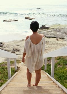 Flowy tunic. Bohemian style. Beach Life.