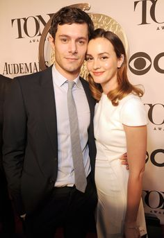 Leighton Meester and Adam Brody at the Tony Awards 2014 | POPSUGAR Celebrity