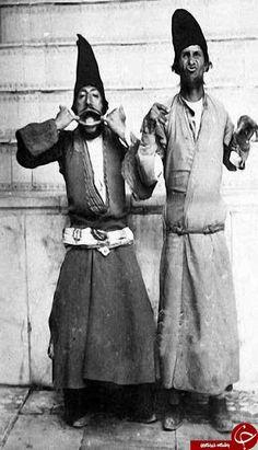 دلقک های ناصرالدین شاه عکس