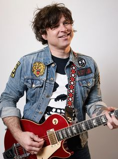 Photograph by Max Doyle/Rolling Stone Australia/Getty Images. Denim Jacket Patches, Patched Denim, Learn Guitar Chords, Ryan Adams, Leaving New York, Adam S, Latest Albums, Music Icon, Fan Page