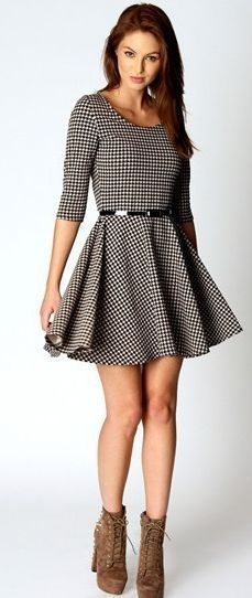 Shift short dress