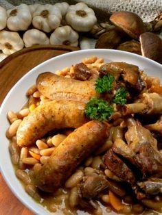 Véritable recette du cassoulet toulousain au Confit de Canard et de Porc - micouleau-beaumont.fr