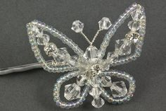 Sparkly Butterfly Hair Grip