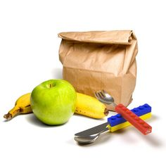 Fred & Friends - Snack & Stack eating utensils - Bmini - Design for Kids