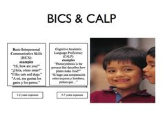 Need to know the difference between BICS and CALP? These are two important acronyms in language learning. This is a great explanation.
