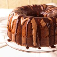 Chocolate Syrup Cake (serve with berries--yum!)