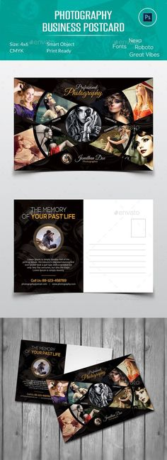 Postcard Template  Postcard Template Business Postcards And Ai