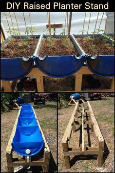 Hydroponic Growing, Hydroponic Gardening, Organic Gardening, Building A Raised Garden, Raised Garden Beds, Raised Beds, Bucket Gardening, Container Gardening, Garden Organization