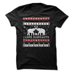 Elephants Lover Shirt For Christmas 2015 T-Shirts, Hoodies, Sweaters