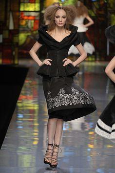 Dior John Galliano Paris Haute Fashion 2009