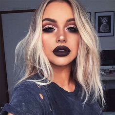 Cut Crease The technique that has conquered the lovers with makeup - Outfit,Frisuren,Make up Makeup Goals, Love Makeup, Makeup Inspo, Makeup Inspiration, Makeup Ideas, Makeup Style, Dark Makeup Looks, Makeup Looks Winter, Makeup Tutorials