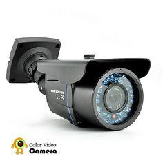 "CCTV Video Security Camera ""Dark Guard"" - Waterproof, Night Vision"