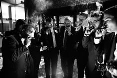 Cigars | Thompson Barn | Winter Wedding | Lenexa, KS | Felicia the Photographer