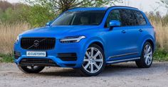 Volvo XC90 Gets Wrapped In Satin Perfect Blue #Tuning #Volvo