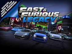 Fast & Furious: Legacy App by Kabam. Racing Apps.