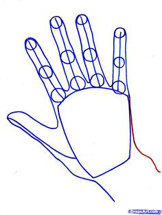 hand drawings a step by step   How to Draw Realistic Hands, Draw Hands