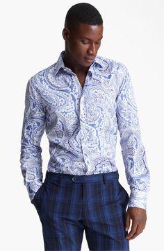 Etro Paisley Print Dress Shirt | Nordstrom