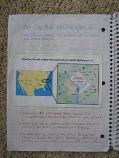 Great ideas for a fifth grade interactive social studies notebook!