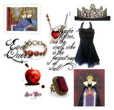 """Evil Queen"" by waitingforthelights ❤ liked on Polyvore featuring Sorrelli, Disney Couture, TIARA, Disney, E.vil, evil queen, snow white, disney villains and disney"