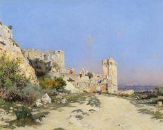 Joseph Garibaldi - Abbaye de Montmajour, 1898