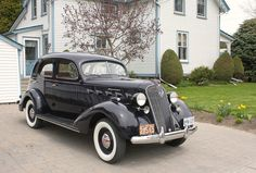 1937 Graham Supercharged Turbo
