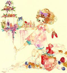 Life on a cake.  P.S. this food art/animation tumblr is wonderful.