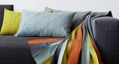 декоративные подушки Ecco / Ellen фабрики Creation Baumann.