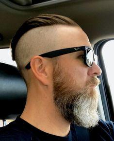 Men's Hairstyles and Beard Models Mens Hairstyles With Beard, Undercut Hairstyles, Haircuts For Men, Cool Hairstyles, Fury Haircut, Beard Haircut, Beard Styles For Men, Hair And Beard Styles, Bart Styles