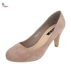 Ital-Design , Coupe fermées femme - marron - marron clair, - Chaussures ital design (*Partner-Link)