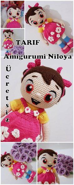 Amigurumi Niloya Doll Making – My Amigurumi Recipes - Handmade Crochet Bear, Crochet Patterns Amigurumi, Amigurumi Doll, Free Crochet, Knitting Patterns, Knitted Dolls, Crochet Dolls, Helly Hansen, Amigurumi For Beginners