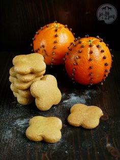 gingerbread cookies with orange