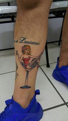 Girls, drinks, oldschool, oldbonetattoo, Edmar Venâncio .