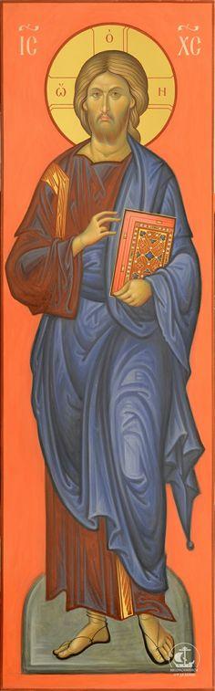 Byzantine Art, Byzantine Icons, Christ Pantocrator, Orthodox Prayers, Roman Church, Creativity Exercises, Life Of Christ, Russian Icons, Catholic Priest